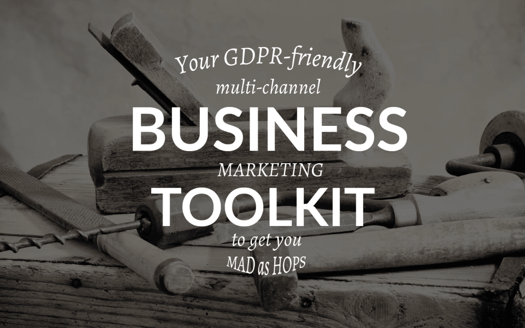 GDPR FRIENDLY MARKETING TOOLKIT