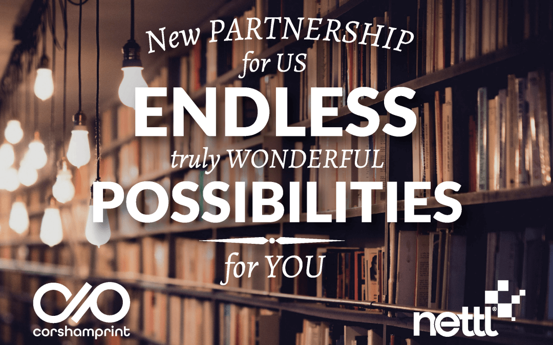 New partnership for us endless, truly wonderful possibilities for you