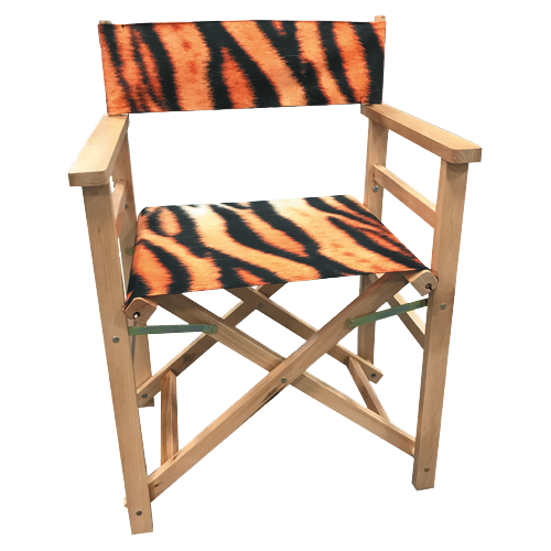 Kubrick Textile Printed Directors Chair
